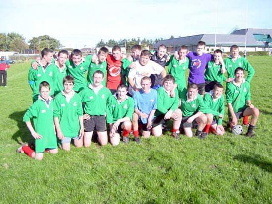 Photograph of Under 16's Rugby Result