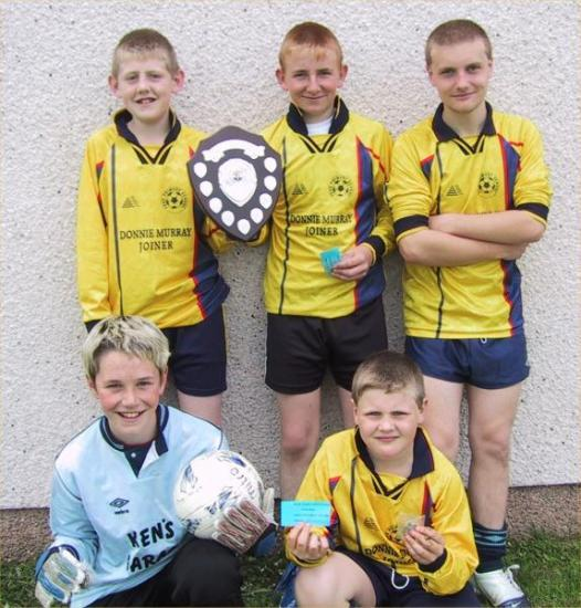 Photograph of Farr Junior Five-a-side Footbal Competition Winners