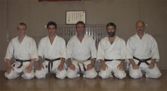 Photograph of Wick Tora-Kai Karate Club Gradings.