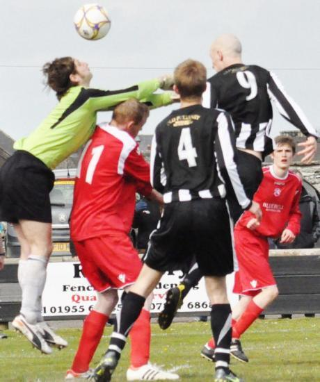 Photograph of Wick Academy 3 Lossiemouth 0 - Saturday 5 May 2012