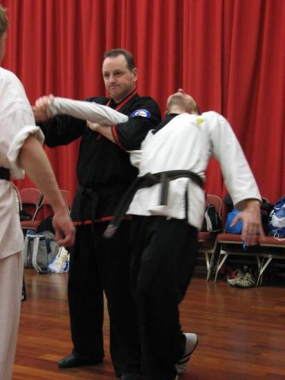Photograph of Local Martial Arts Instructor Awarded