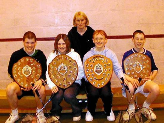 Photograph of Wick Junior Badminton Annual Championships