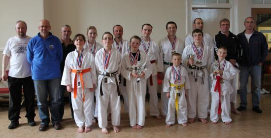 Photograph of Caithness Tora-Kai Karate Club Kata & Kumite Competition