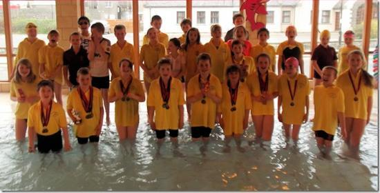 Photograph of Wick Amateur Swimmers At Thurso Mini Meet