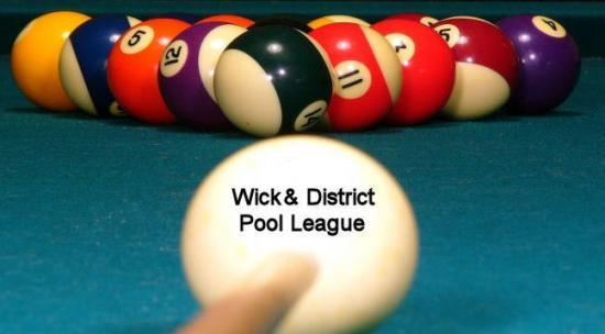 Photograph of Wick & District Summer Pool League Semi - finals