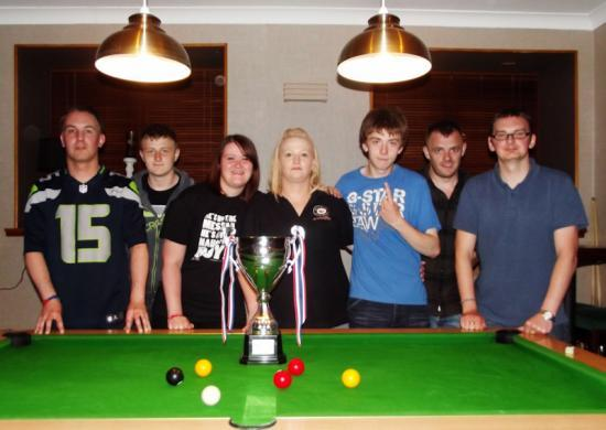 Photograph of Wick & District Summer Pool League Winners