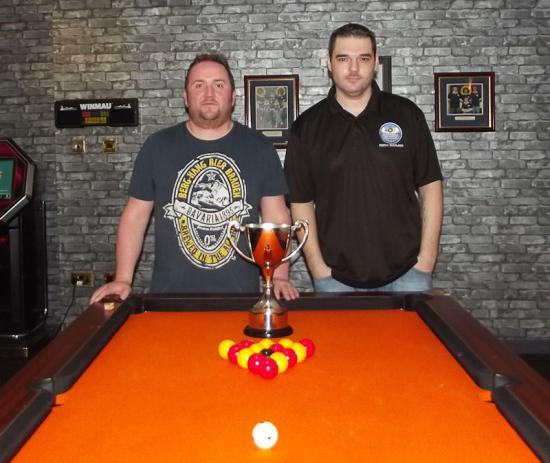 Photograph of 2015 Captains Cup Finalists  - Wick and District Pool