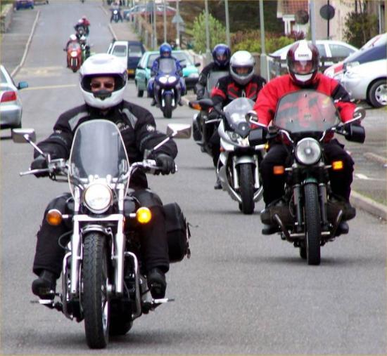 Photograph of Caithness Classic Motorcycle Rally 2005