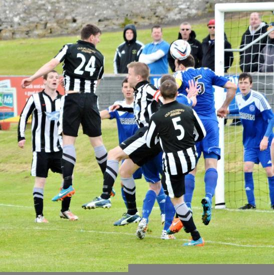 Photograph of Wick Academy 2 Nairn County 1