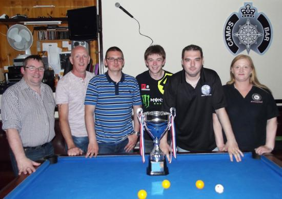 Photograph of Summer Pool League Final