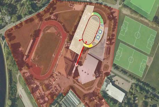 Photograph of Regional Sports Facility to be designed and costed