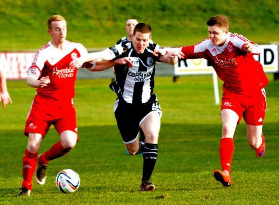 Photograph of Wick Academy 2 Lossiemouth 1