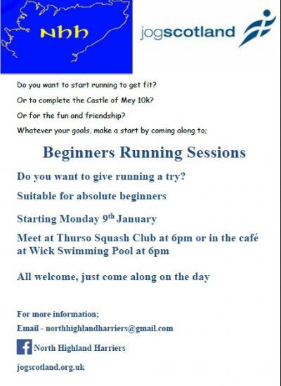 Photograph of Beginners Running Groups - Thurso and Wick