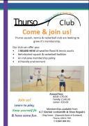 Thumbnail for article : Thurso Squash, Tennis and Racketball Club Membership Open Now