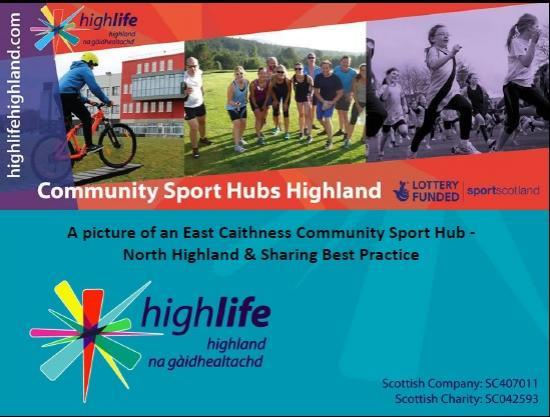 Photograph of East Caithness Sports Hub Meeting 25th September