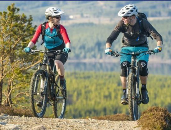 Photograph of Funding Support Announced For Scottish Mountain Biking