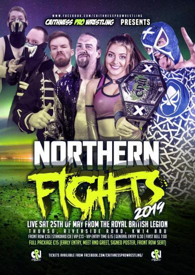 Photograph of Caithness Pro Wrestling - Northern Fights - Saturday 25th May 2019