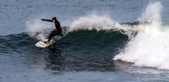 Photograph of Winter Surfing In Caithness
