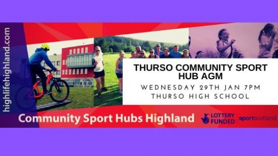 Photograph of Your Thurso Community Sport Hub Needs You!