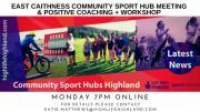 Thumbnail for article : Online Meeting and Coaching Talk with East Caithness Sports Hub